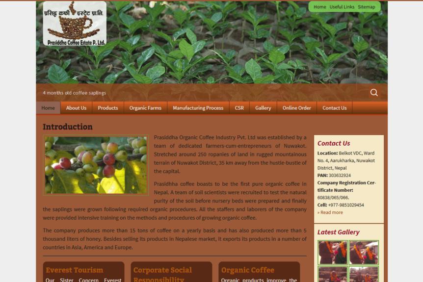 Prasiddha Organic Coffee